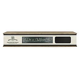 Bee & Willow™ 30-Inch Chalkboard Shelf