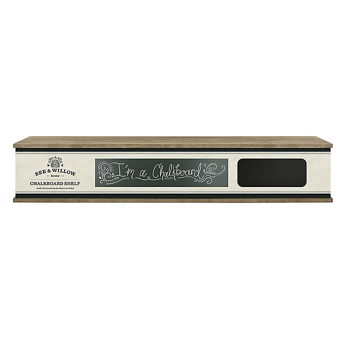 Alternate image 1 for Bee & Willow™ 30-Inch Chalkboard Shelf