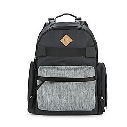 Eddie Bauer® Stowaway Diaper Backpack in Grey