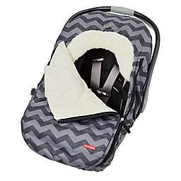 SKIP*HOP® Stroll & Go Universal Car Seat Cover in Tonal Chevron