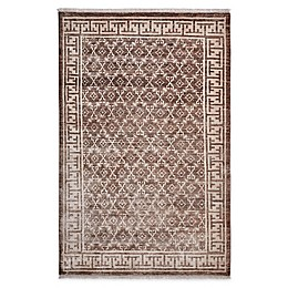 Solo Rugs Lia Transitional Khotan Hand-Knotted Area Rug