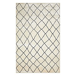 Solo Rugs Moroccan Bohemian Hand Knotted Area Rug