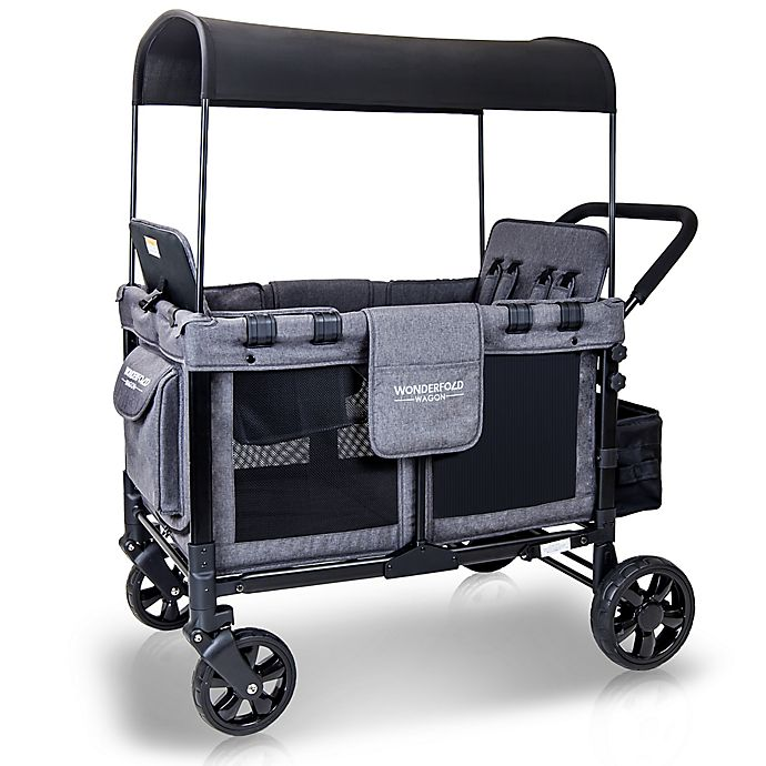 Alternate image 1 for WonderFold Wagon W4 Quad Folding Stroller Wagon