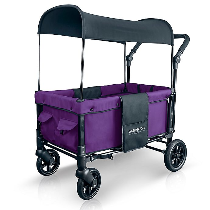 Alternate image 1 for WonderFold Wagon W1 Double Folding Stroller Wagon