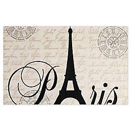 Chesapeake Eiffel Tower Hand Woven Rug in Natural