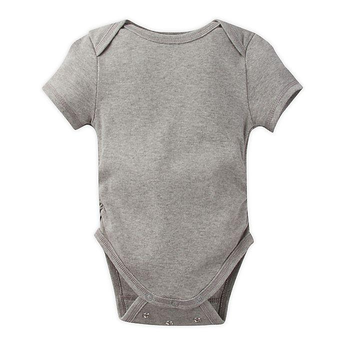 Alternate image 1 for Miraclewear Posheez Snap'n Grow Short Sleeve Bodysuit