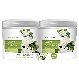 Smells Begone® White Gardenia 15 oz. Odor Absorbing Gel (Set of 2)