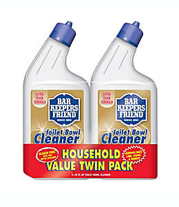 Limpiador de inodoro Bar Keepers Friend® de 709.76 mL, Paquete de 2