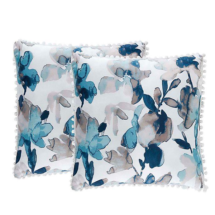 Alternate image 1 for Isaac Mizrahi Home Marleigh Throw Pillows (Set of 2)
