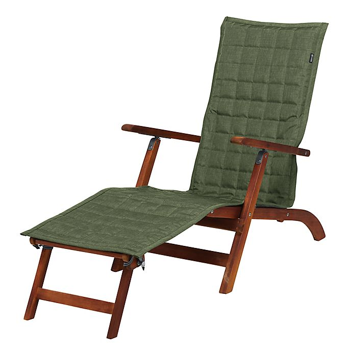 Alternate image 1 for Classic Accessories® Montlake Chaise Lounge Slipcover in Olive