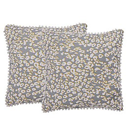 Isaac Mizrahi Home Brook Square Throw Pillows (Set of 2)