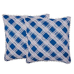 Isaac Mizrahi Home Presley Square Throw Pillows (Set of 2)