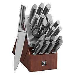J.A. Henckels International Graphite 20-Piece Self-Sharpening Knife Block Set