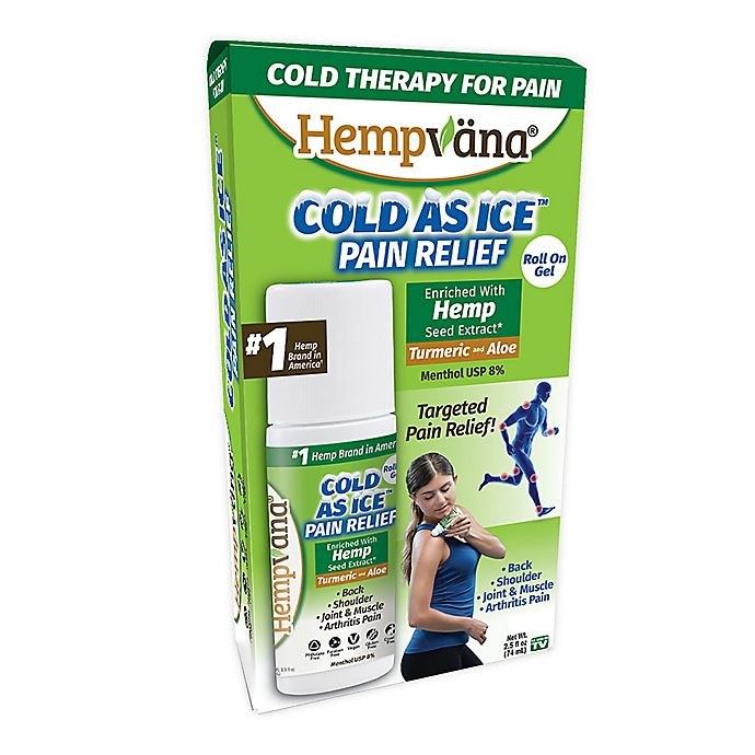 Alternate image 1 for Hempvana® Cold as Ice™ 2.5 fl. oz. Pain Relief Roll on Gel