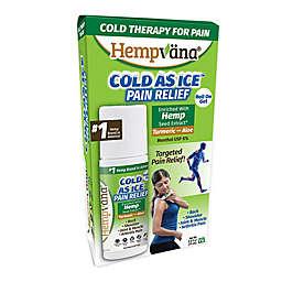 Hempvana® Cold as Ice™ 2.5 fl. oz. Pain Relief Roll on Gel