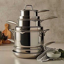 Zwilling® J.A. Henckels Energy Plus Nonstick Stainless Steel Cookware Collection
