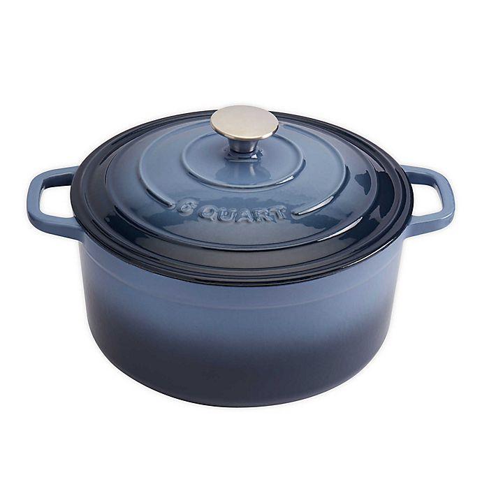 Alternate image 1 for Artisanal Kitchen Supply® 6 qt. Enameled Cast Iron Dutch Oven