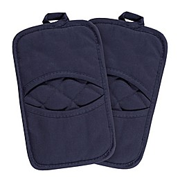 KitchenSmart® Colors 2-Pack Solid Pocket Pot Mitts