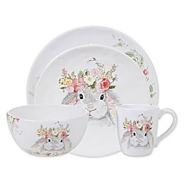 Certified International Sweet Bunny Tableware Collection