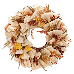Bee & Willow™ Home 20-Inch Autumn Goldenrod Wreath
