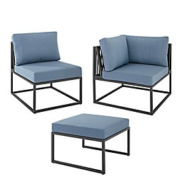 Forest Gate Hector Patio Furniture Collection in Blue