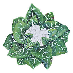 Encore Concepts Verdura Cauliflower Serving Platter in Green/White