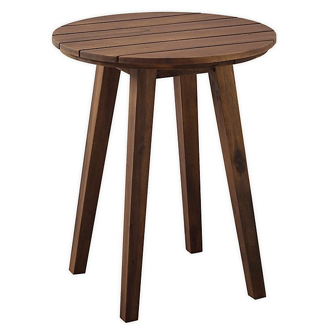 Alternate image 1 for Forest Gate™ Patio Wood Side Table