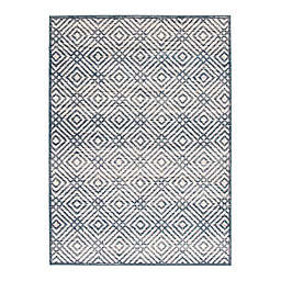 ECARPETGALLERY Ember 5'3 x 7'3 Indoor/Outdoor Area Rug in Cream