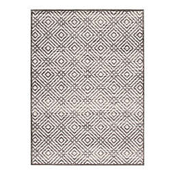 ECARPETGALLERY Ember 7'10 x 10'2 Indoor/Outdoor Area Rug in Anthracite