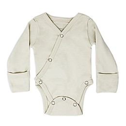 L'ovedbaby® Kimono Organic Cotton Long Sleeve Bodysuit