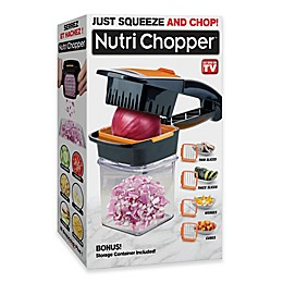 Nutri Chopper Kitchen Slicer & Chopper in Black