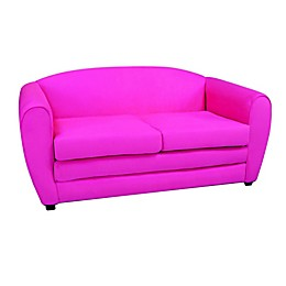 Kangaroo Trading Company Tween Sleeper Sofa in Pink