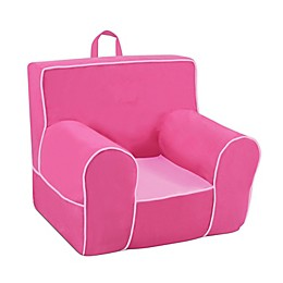 Kangaroo Trading Company Classic Grab-n-Go Foam-Filled Chair in Pink