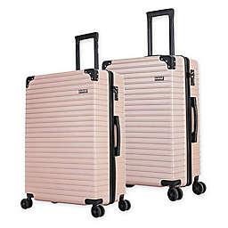 DUKAP® Tour Hardside Spinner Checked Luggage