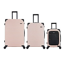 DUKAP® Tour 3-Piece Hardside Spinner Luggage Set