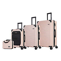 DUKAP® Tour 4-Piece Hardside Spinner Luggage Set