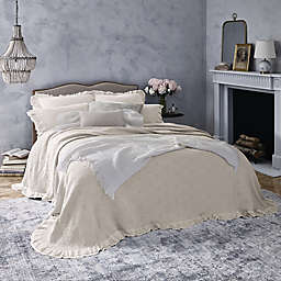 Wamsutta® Vintage Clermont King Bedspread in Light Grey