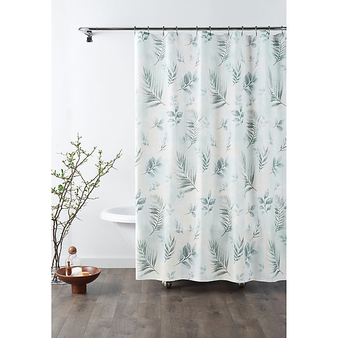 Alternate image 1 for Croscill® Rothbury Shower Curtain in Sage Green