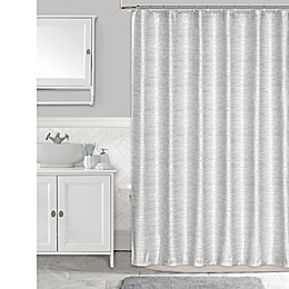 Penthouse Shower Curtain in Silver