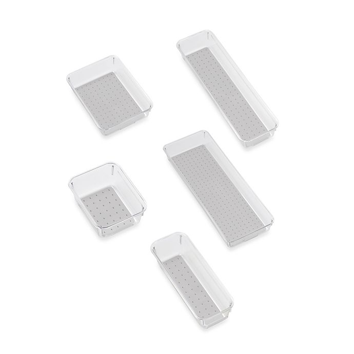 Alternate image 1 for madesmart® Clear Collection Drawer Organization Bin