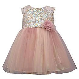 Bonnie Baby Glitter Top Ballerina Dress