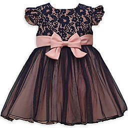 Bonnie Baby Lace Top Ballerina Dress