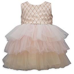 Bonnie Baby 2-Piece Ballerina Dress in Blush