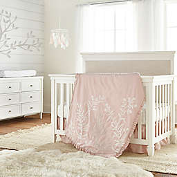 Levtex Baby® Stella 4-Piece Floral Crib Bedding Set in Blush