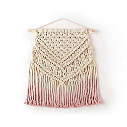 Levtex Baby Macrame Ombre Wall Decor in Pink