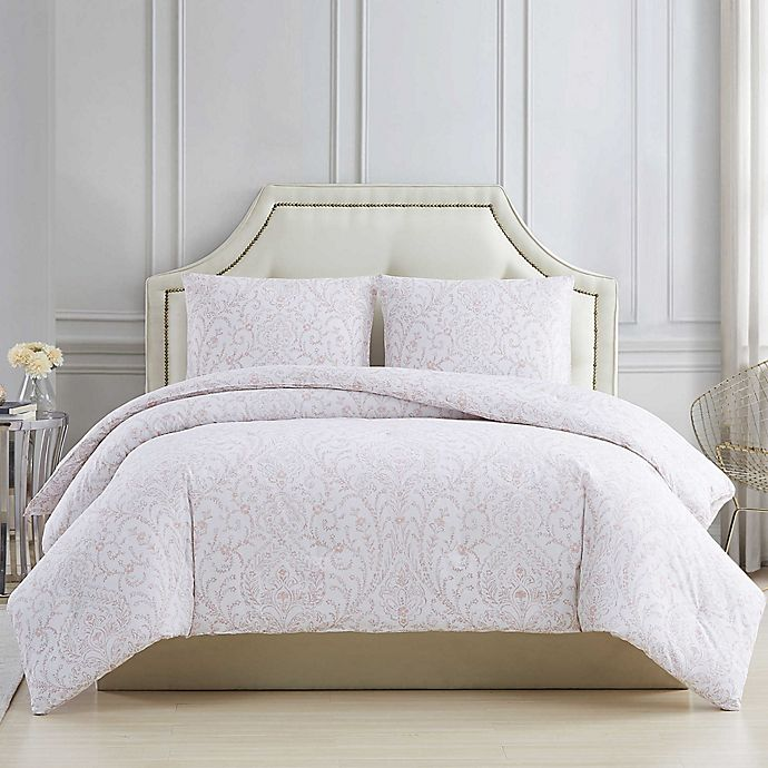 Alternate image 1 for Charisma® Damask 3-Piece Comforter Set