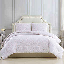 Charisma® Damask 3-Piece Full/Queen Comforter Set in Blush
