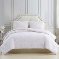 Deals on Charisma Damask 3-Piece Full/Queen Comforter Set in Blush