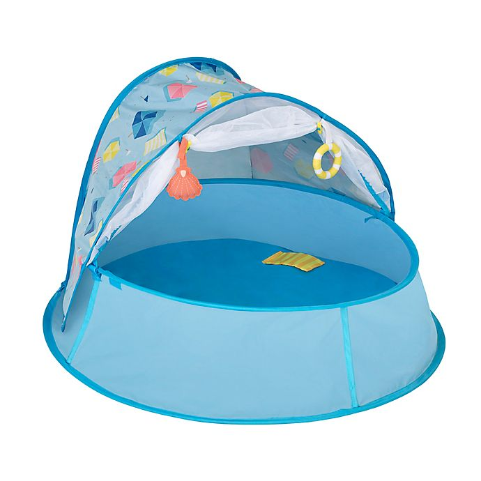 Alternate image 1 for babymoov® Aquani 3-in-1 Pop-Up Parasol Playpen in Aqua