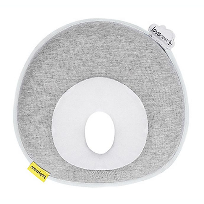 Alternate image 1 for babymoov® Lovenest+ Memory Foam Pillow in Grey